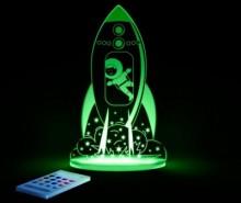Lampa de veghe Rocket