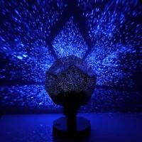 Lampa proiector cer cu stele, Albastru