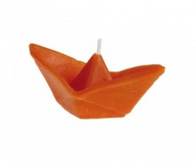 Lumanare Boat Orange S