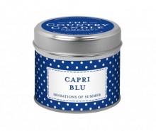 Lumanare parfumata Polka Dot Capri Blu