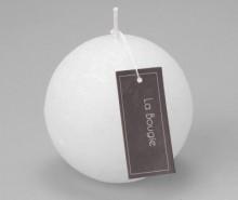 Lumanare Sphere White