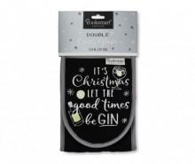 Manusa dubla de bucatarie Good Time Be Gin