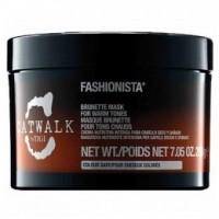 Masca pentru Par Brunet - TIGI Catwalk Fashionista Brunette Mask 200 ml