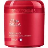 Masca pentru Par cu Structura Puternica - Wella Professionals Brilliance Treatment 150 ml