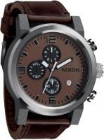 NIXON Ride A-315-562 Brown Black Chronograph