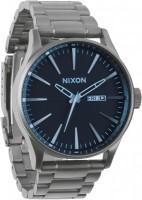 NIXON Sentry SS A356-1427 Gunmetal Blue Crystal