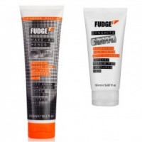 Pachet Fudge pentru Par Degradat/ Deteriorat - Sampon si Tratament