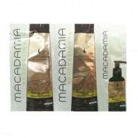 Pachet Nutritiv - Macadamia Nourishing Moisture Trio Foil Pack: sampon (10ml), balsam par (10ml) si tratament nutritiv si hidratant (5ml)