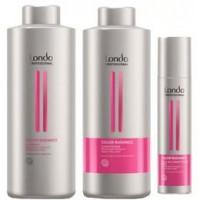 Pachet pentru Par Vopsit Londa Professional Color Radiance - Sampon, Balsam si Balsam Spray Leave-In