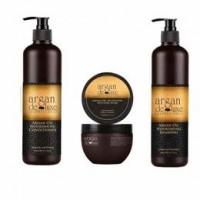 Pachet promotional hranitor Argan de Luxe Professional - Sampon 300 ml + balsam 300 ml + masca 250 ml