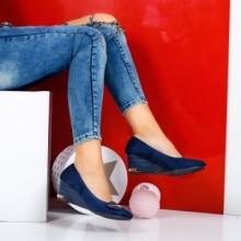 Pantofi Chioma albastri cu talpa ortopedica
