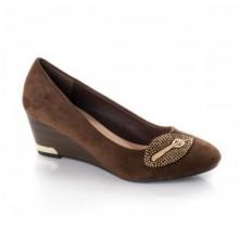 Pantofi Chioma maro cu talpa ortopedica