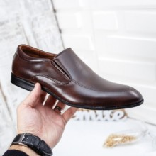 Pantofi Cleno maro eleganti