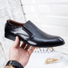 Pantofi Cleno negri eleganti