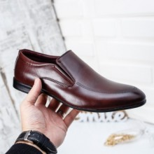 Pantofi Cleno visinii eleganti