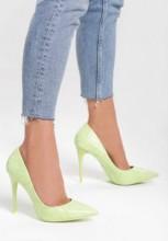 Pantofi cu toc Rosalina Verzi