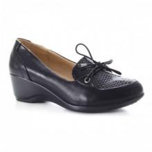 Pantofi dama Vinesis negri cu talpa ortopedica