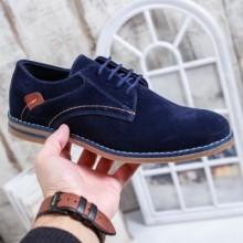 Pantofi Klaus bleumarin casual