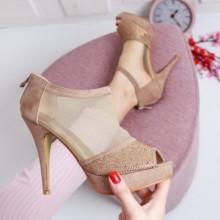 Pantofi Regisi khaki eleganti