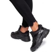 Pantofi sport dama Soona Negru