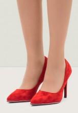 Pantofi stiletto Luisina Rosii