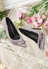 Pantofi stiletto Marsha Gri