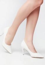 Pantofi stiletto Song Albi