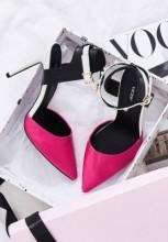Pantofi stiletto Sylwia Fucsia