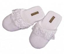 Papuci de casa Lacy White 39/40