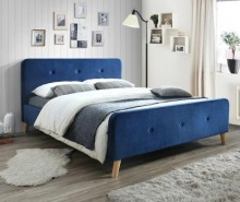 Pat Goteborg Blue 160x200 cm