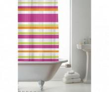 Perdea de dus Ace Stripe Multicolor 180x180 cm