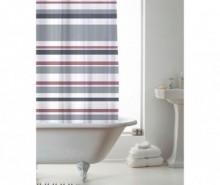 Perdea de dus Ace Stripe Pink Grey 180x180 cm