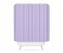 Perdea de dus Purple Ioner 180x200 cm