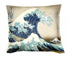 Perna decorativa Hokusai The Great Wave 40x40 cm