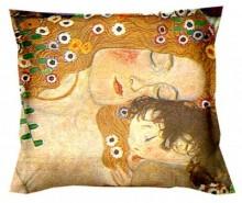 Perna decorativa Klimt Mother and Child 40x40 cm