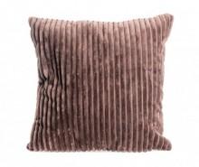 Perna decorativa Striped Brown 45x45 cm