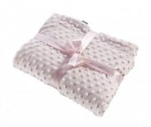 Pled Bubbles Pink 80x110 cm