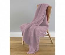 Pled Grant Chenille Pink 127x152 cm
