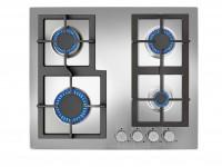 Plita gaz incorporabila Teka EFX 60 4G AI AL CI 4 arzatoare gratare fonta inox