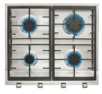 Plita gaz incorporabila Teka EX 60.1 4G AI AL CI cu 4 arzatoare 60 cm gratare fonta inox