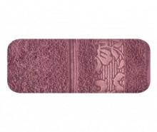 Prosop de baie Sylwia Dark Pink 50x90 cm