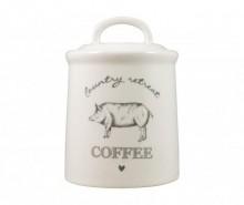 Recipient cu capac pentru cafea Country Retreat