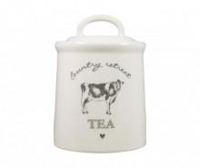 Recipient cu capac pentru ceai Country Retreat
