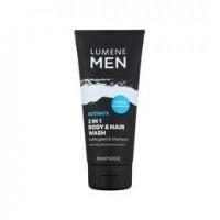 Sampon Hair & Body wash Lumene MEN, 200 ml