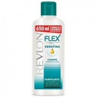 Sampon pentru Par Gras Revlon Flex Purificante, 650ml