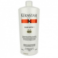 Sampon pentru Par Normal spre Uscat - Kerastase Nutritive Bain Satin 1 Irisome Shampoo 1000 ml