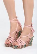 Sandale cu platforma Royos Roz
