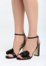Sandale cu toc Sarsina Negre