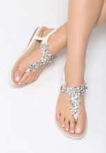 Sandale dama Danseys Albe