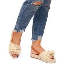 Sandale dama Grettel Bej